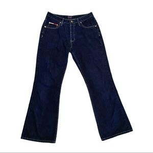 Vintage 90's Tommy Hilfiger button fly flare jeans